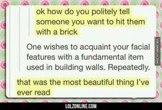 Very Polite #lol #haha #funny