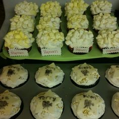 Movie themed party cuppycakes