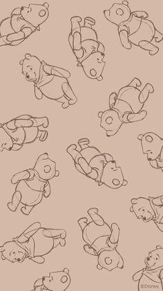 Disney Phone Wallpaper, Cartoon Wallpaper Iphone, Iphone Background Wallpaper, Cute Cartoon Wallpapers, Aesthetic Iphone Wallpaper, Winnie The Pooh Drawing, Winnie The Pooh Pictures, Cute Winnie The Pooh, Winnie The Pooh Background