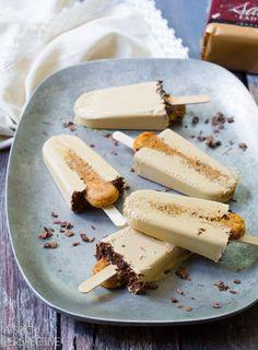 """Tiramisu Pops""   @SpicyPerspectiv #recipe #summer #dessert"