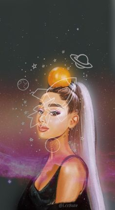 Ariana Grande Drawings, Ariana Grande Wallpaper, Out Of This World, Locks, Disney Characters, Fictional Characters, Bts, Wallpapers, Disney Princess