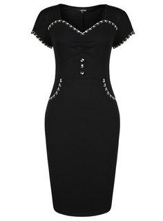 Monicaca Womens Celebrity Lace Splicing Evening Pencil Midi Bodycon Dress at Amazon Women's Clothing store