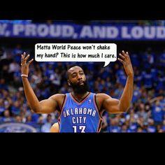 OKC Thunder! Fear the beard!!