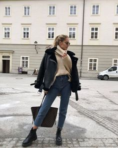 winter outfits 2020 15 Casual Winter Out - winteroutfits Winter Outfits For Teen Girls, Cute Winter Outfits, Winter Fashion Outfits, Fur Fashion, Look Fashion, Autumn Winter Fashion, Fall Outfits, Casual Outfits, Casual Winter