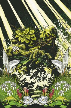 Swamp Thing ~ Yannick Paquette