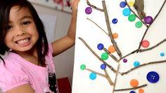 Il riciclo creativo dei bottoni per creare con i bambini tanti oggetti divertenti