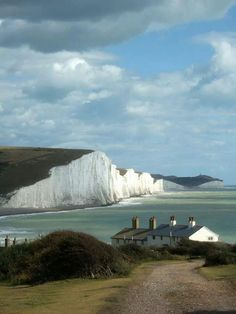 """Seven sisters"", Sussex, England."