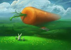 Paradise in the land of carrots!