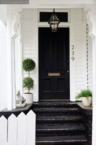 This looks like a really neat productfront door, front porch