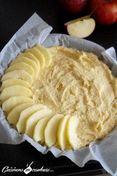 Tarte Gâteau aux pom