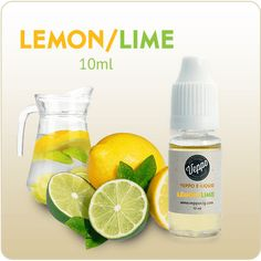 Lemon Lime Flavor E-liquid Nicotine - 10ml