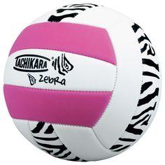 pink n zebra volleyball