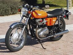 The Umberslade Hall designed BSA LIGHTNING 650 Oil in frame model - 1973, the year that BSA ceased all motorcycle production.