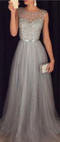 #silver #tulle #prom #party #evening #dress #dresses #gowns #cocktaildress #EveningDresses #promdresses #sweetheartdress #partydresses #QuinceaneraDresses #celebritydresses #2016PartyDresses #2016WeddingGowns #2017Homecoming dresses #LongPromGowns #blackPromDress #AppliquesPromDresses #CustomPromDresses #backless #sexy #mermaid #LongDresses #Fashion #Elegant #Luxury #Homecoming #CapSleeve #Handmade #beading