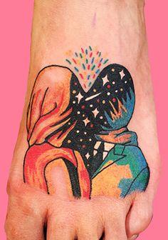 Los delicados y originales tattoos de Diana Katsko. — Diana Katsko