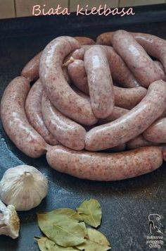 Fluted with goat - Clean Eating Snacks Homemade Kielbasa Recipe, Appetizer Recipes, Appetizers, Polish Recipes, Smoking Meat, Sausage Recipes, Quick Recipes, Clean Eating Snacks, Food To Make