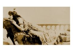 Sarah Bernhardt, French, Actress in the Role of Cleopatra, 1891
