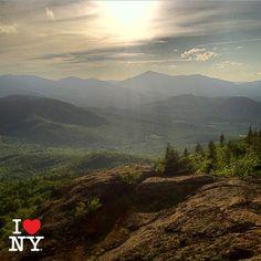 Beautiful Adirondack Mountains New York