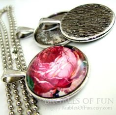 Pendant Trays / Settings / Bezels  10 Round by BaublesOfFun, $9.95