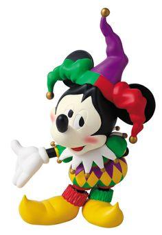 Disney Mickey Mouse Vinyl Collectible Doll Jester Version Japan Medicom   eBay