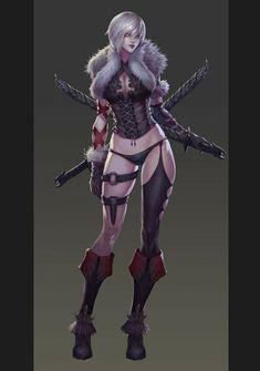 Fantasy Art, Warrior, Woman