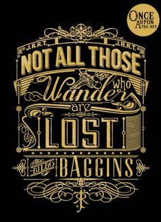 Once Upon a Tee |Tolkien Typography $12