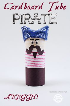 This fun pirate craf