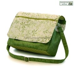 messenger bag - PDF tutorial. Seller has several other interesting tutorials available in her shop.