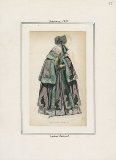 January 1841 Ladies Cabinet