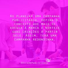 #DicaDePublicidade #DicaBamp #Design, #Publicidade e #Marketing :)