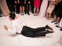 5 Line Dance Songs You Might Actually Want to Try at Your Wedding | Photo by: Paul Morse Photography | TheKnot.com
