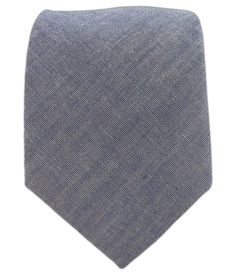 Classic Chambray - Warm Blue (Cotton) | Ties, Bow Ties, and Pocket Squares | The Tie Bar