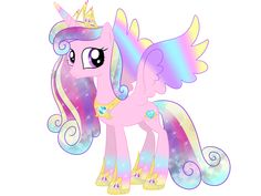 Princess Cadance Rainbowfied v.2 by Moonlightprincess002.deviantart.com on @deviantART