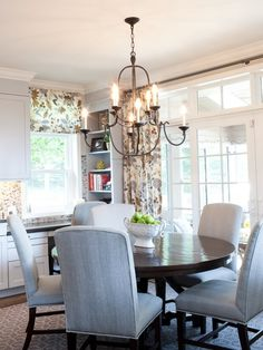 Drapes In Kitchen Design, Pictures, Remodel, Decor and Ideas - page 4