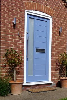 Contemporary Front doors - Solid Timber or Glazed & A Contemporary Style 3 Light Door Fitted In Finchley In North ... pezcame.com