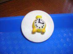 Peter Pan Cupcake Topper - Tick Tock Clock