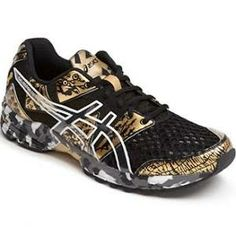 black and gold asics @ Nordstrom @Lindsey Smith