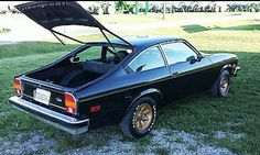 """1976 Chevrolet """"Cosworth"""" Vega. The rear view...  Cosworth RIPPED out the lame, stock, 2.3 liter, 84hp BOAT ANCHOR of a Vega engine, and replaced it with an Indy-Inspired, DOHC, FUEL INJECTED, 200hp, 2.0 liter, FOUR cylinder engine!! These were special cars - and RARE!!"""