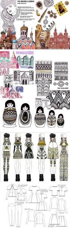 Final Collection: The Heavenly Kingdom Fashion Illustration Portfolio, Fashion Portfolio Layout, Fashion Design Sketchbook, Illustration Mode, Fashion Sketches, Portfolio Design, Illustrations, Fashion Books, Fashion Art
