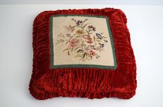 Vintage decorative pillow with cover Vintagevery by vintagdesign