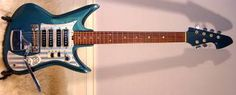 Vintage 1960's Teisco ET-460 Del Rey Electric Guitar