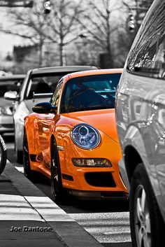 Porsche Princeton Selective Color by Joe Dantone, via Flickr