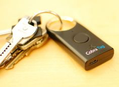 Cobra Tag finds your keys, finds your phone (hands-on) | The Car Tech blog - CNET Reviews