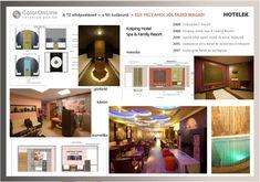Hotel interior design by ColorOnLine Interior Design