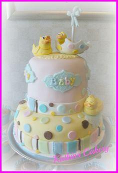 Tiny Bundle baby Shower cake