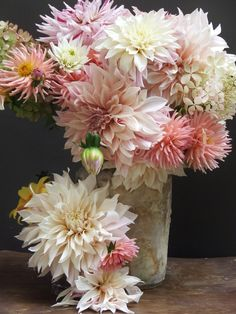 french country flowers - dahlias 1 1