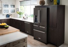 See how Abby of @stylemeprettystyled her Kitchen with Black KitchenAid® Appliances.