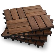 Need to update your outdoor space? We offer this easy DIY Twelve Slat Contemporary - Box of 10 Deck Tiles for $39.99. We also offer different color options.