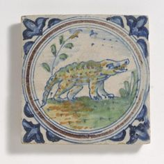 very rare crocodile tile