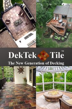 DekTek Tile has the product and PROs to make your outdoor dreams a reality. Get a free quote today!